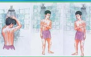 روش صحیح غسل جنابت